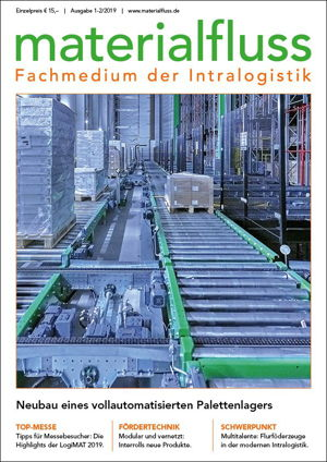 materialfluss, Fachmedium der Intralogistik