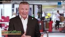 Jeff Moss (Dematic) bei der World Of Material Handling 2018