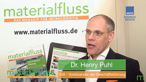 materialfluss ROUND TABLE IFOY 2018: Henry Puhl, Still
